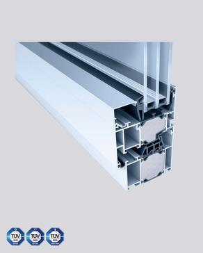Aluminium-Fenster Heroal72