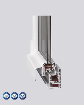 Kunststoff-Parallelschiebekipptür (PSK)
