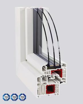 Kunststoff-Fenster PASSIV HL