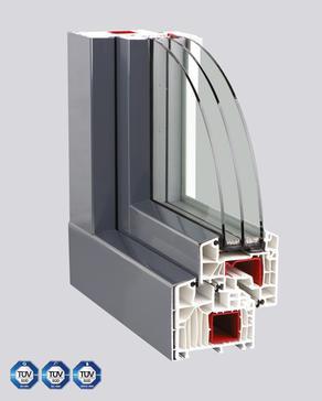 Kunststoff-Fenster PASSIV CL